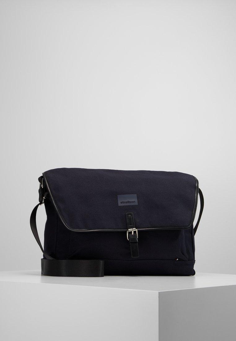 Strellson - HARROW MESSENGER  - Across body bag - dark blue