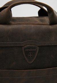 Strellson - HUNTER BRIEFBAG - Stresskoffert - dark brown - 7