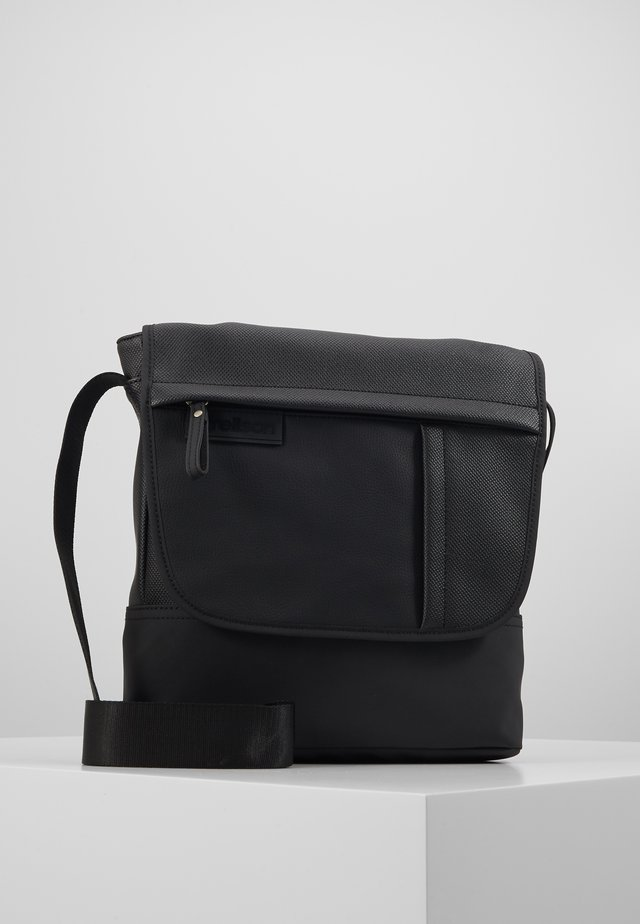 ROYAL OAK SHOULDERBAG - Torba na ramię - black