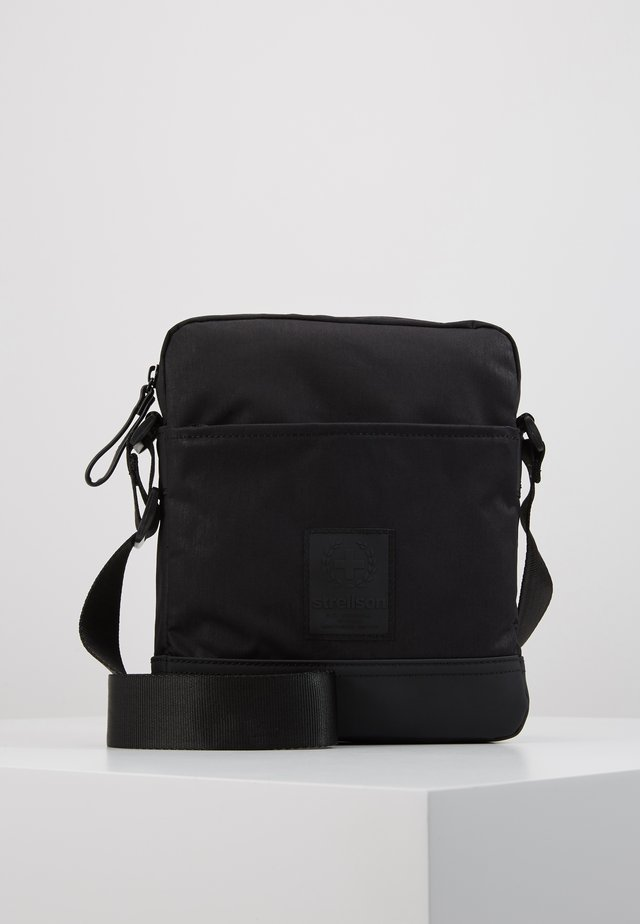 SWISS CROSS SHOULDERBAG - Torba na ramię - black