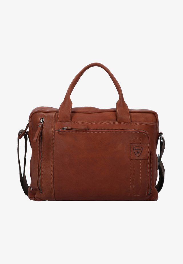 UPMINSTER - Briefcase - cognac