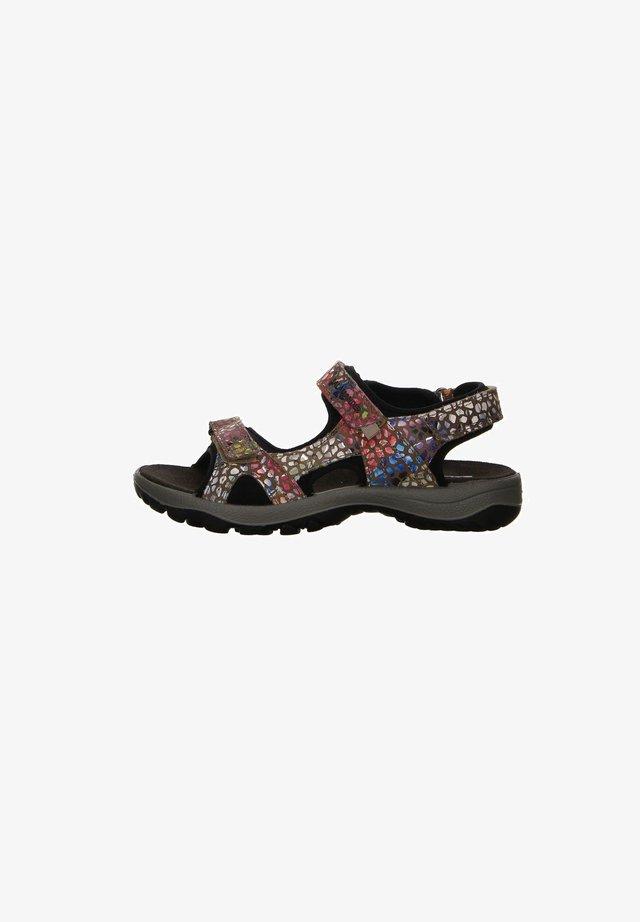 Walking sandals - taupemulti