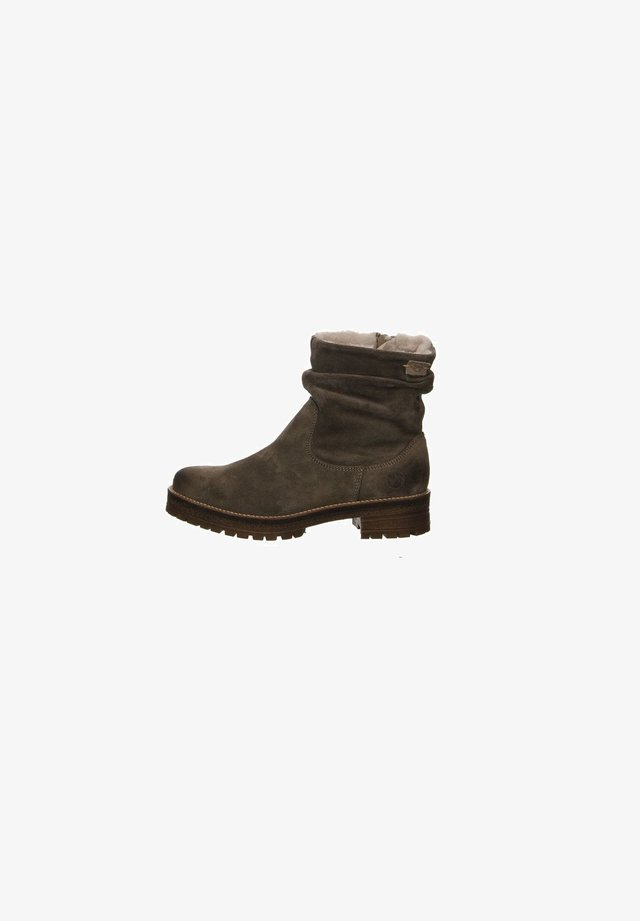 Ankle boots - dunkel-grau