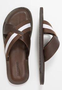 Salamander - JAMIE - Pantofle - brown/white - 1