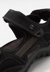 Salamander - DINO - Walking sandals - black - 5