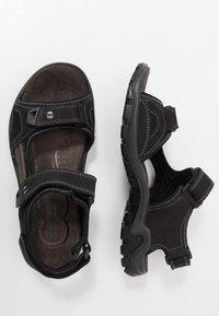 Salamander - DINO - Walking sandals - black - 1