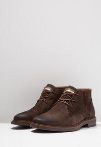 Salamander - Volnočasové šněrovací boty - brown - 2