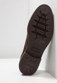 Salamander - Volnočasové šněrovací boty - brown - 4