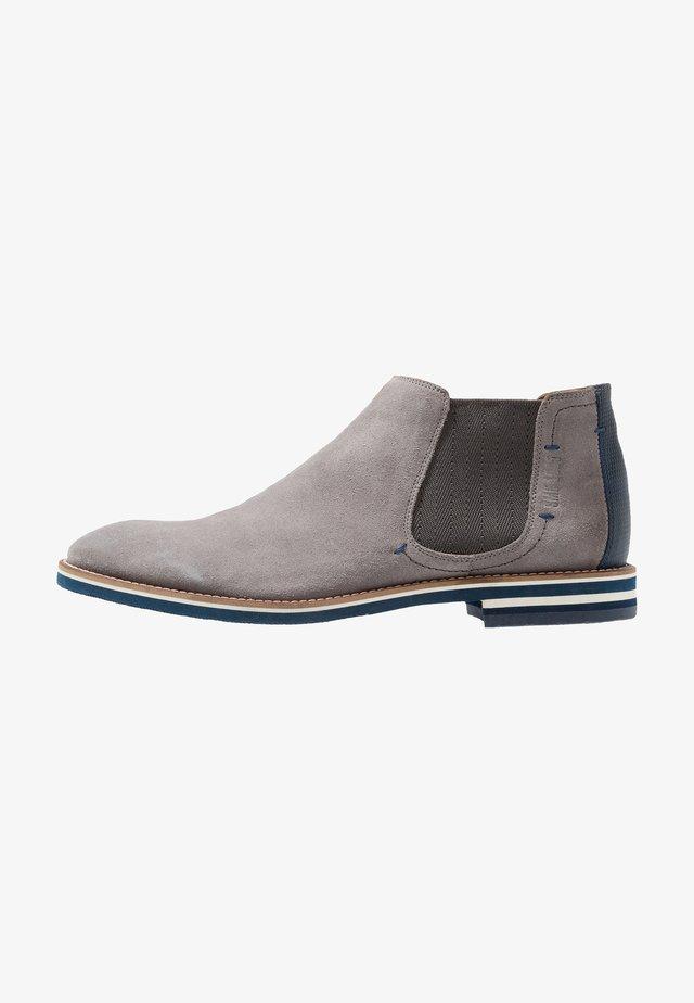 VASCO - Classic ankle boots - light grey