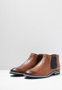 Salamander - VASCO - Classic ankle boots - cognac/navy - 2