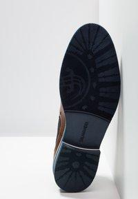 Salamander - VASCO - Classic ankle boots - cognac/navy - 4