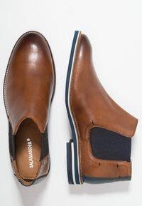 Salamander - VASCO - Classic ankle boots - cognac/navy - 1