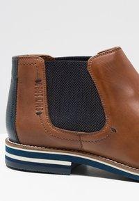 Salamander - VASCO - Classic ankle boots - cognac/navy - 5