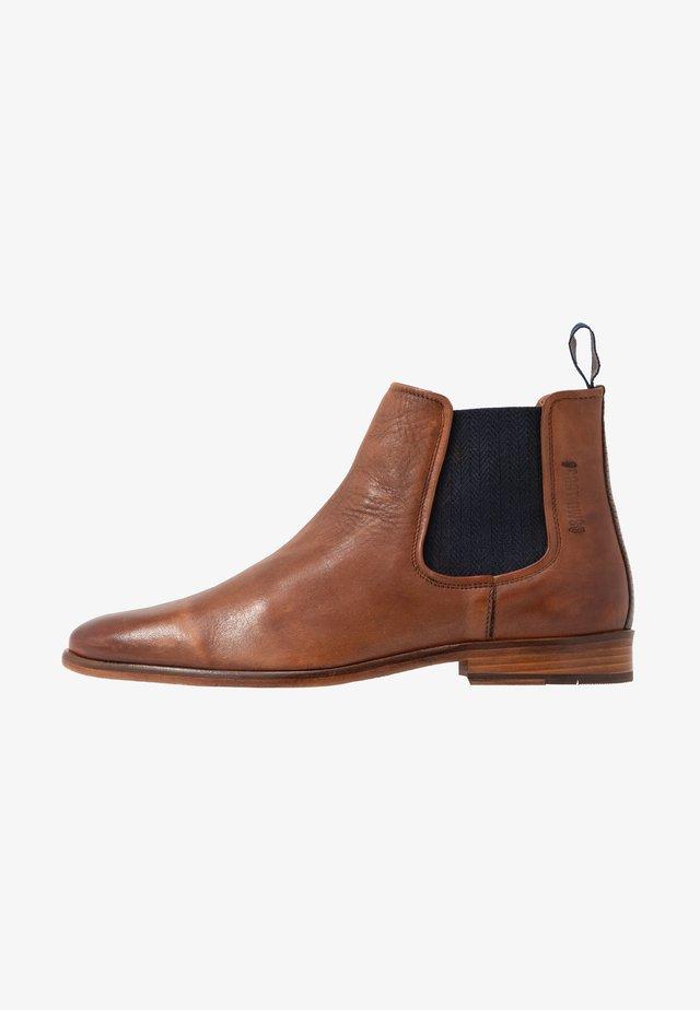 VENTINO - Kotníkové boty - tan