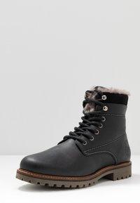 Salamander - HARROLD - Lace-up ankle boots - black - 2