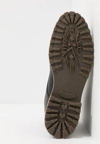 Salamander - HARROLD - Lace-up ankle boots - black - 4