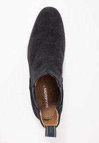 Salamander - VENTINO - Classic ankle boots - navy/tan - 1