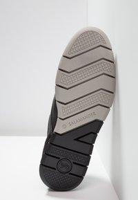 Salamander - MATHEUS - Casual lace-ups - black - 4