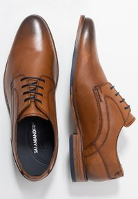 Salamander - SIENNO - Smart lace-ups - tan - 1