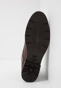 Salamander - VASCO - Šněrovací kotníkové boty - testa di moro - 4
