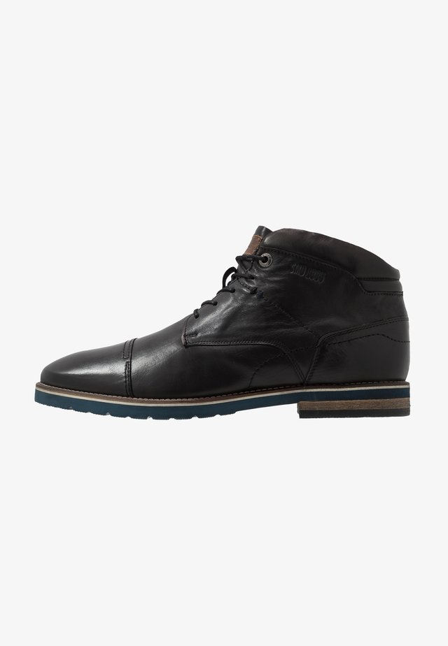 VASCO - Lace-up ankle boots - black