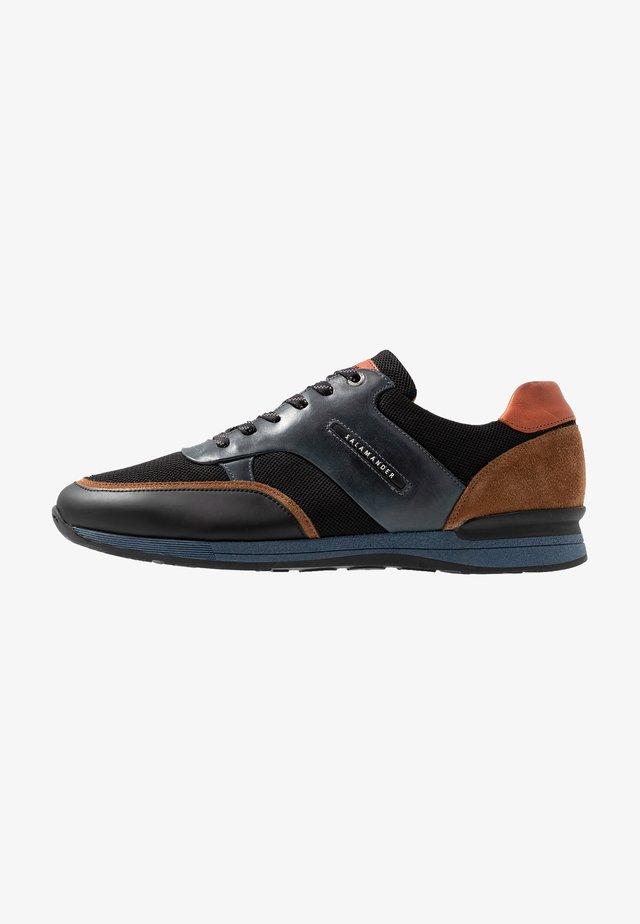 AVATO - Trainers - black/brown