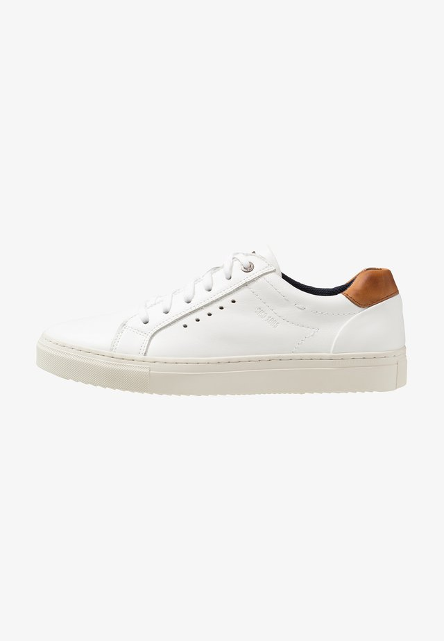 GINOTTO - Sneakers laag - white/cognac