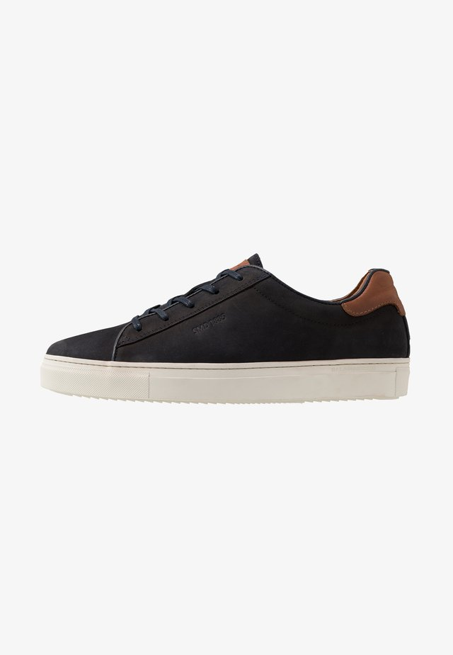 GINOTTO - Sneaker low - navy/cognac