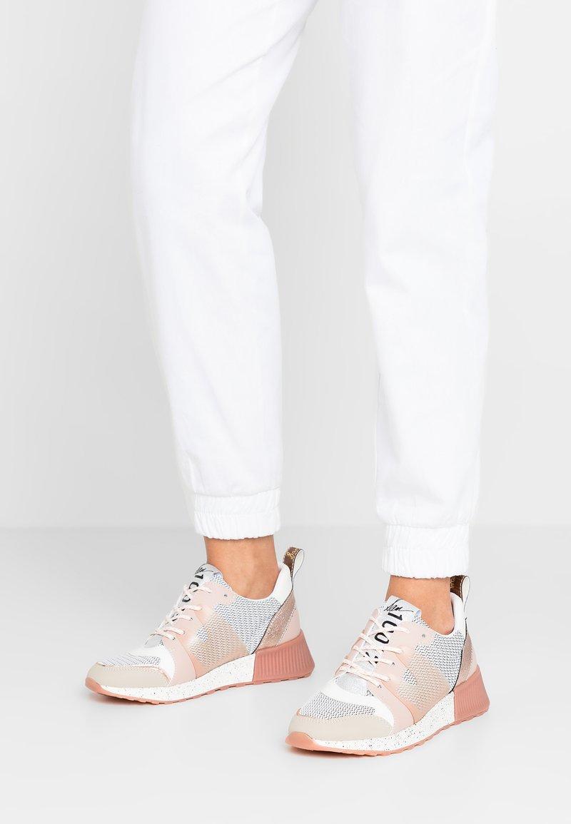 Sam Edelman - DARSIE - Sneakers basse - white/greige/ballet pink