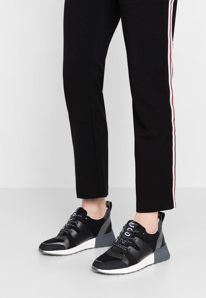 Sam Edelman - DARSIE - Sneaker low - black/anthracite