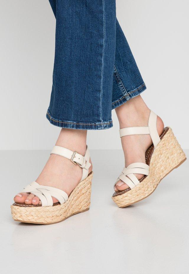 DARLINE - High Heel Sandalette - modern ivory