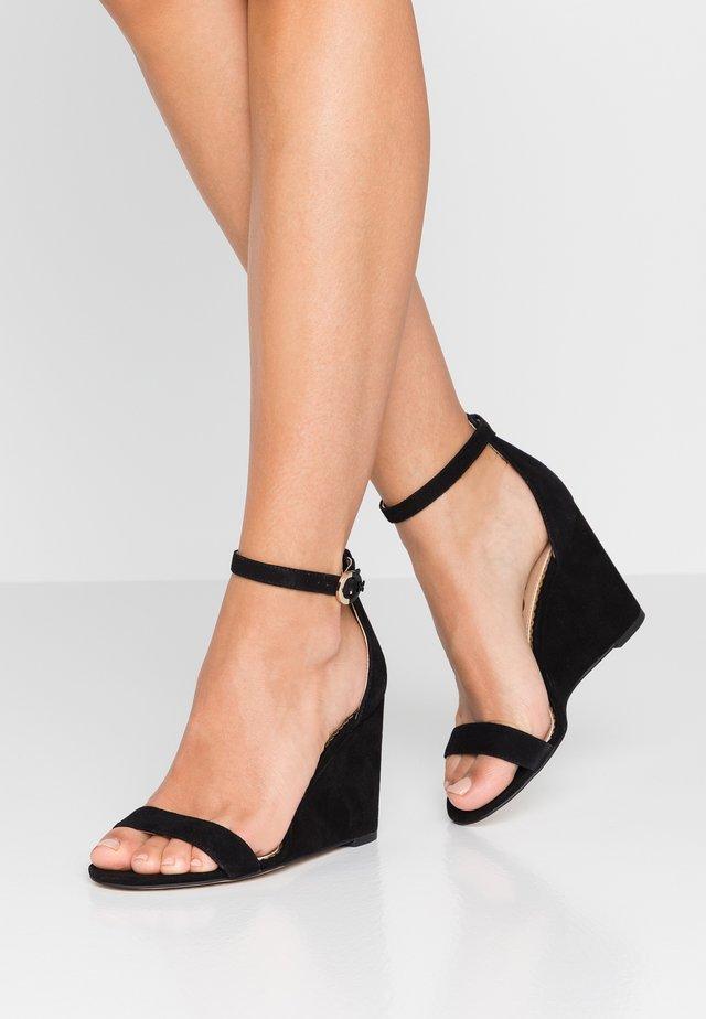 NEESA - High Heel Sandalette - black