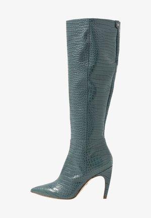 FRAYA - Boots med høye hæler - grey