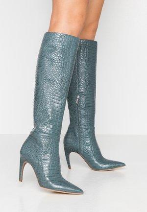 FRAYA - High Heel Stiefel - grey