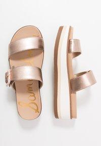 Sam Edelman - AGUSTINE - Pantofle na podpatku - champagne - 3