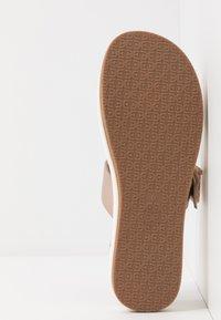 Sam Edelman - AGUSTINE - Pantofle na podpatku - champagne - 6