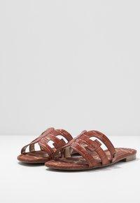 Sam Edelman - BAY SPLENDOR - Pantofle - warm mahogany - 4