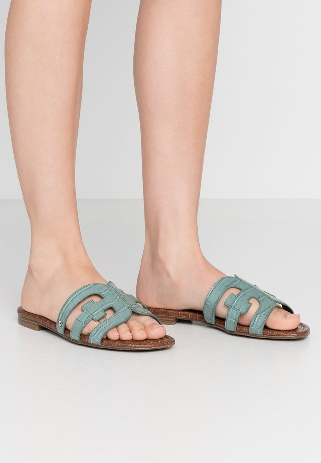 BAY SPLENDOR - Mules - blue sage