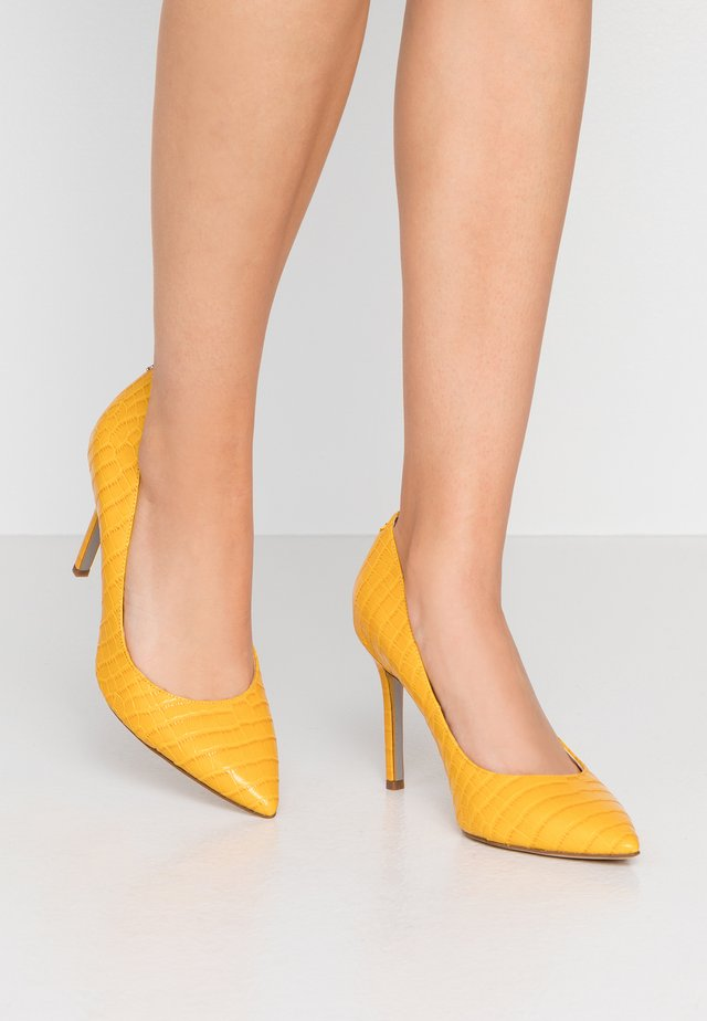 HAZEL - High heels - dijon yellow
