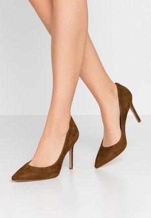 HAZEL - High heels - hazelnut