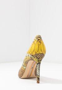 Sam Edelman - HAZEL - Lodičky na vysokém podpatku - yellow/multicolor - 5
