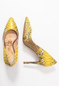 Sam Edelman - HAZEL - Lodičky na vysokém podpatku - yellow/multicolor - 3