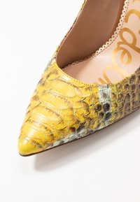 Sam Edelman - HAZEL - Lodičky na vysokém podpatku - yellow/multicolor - 2