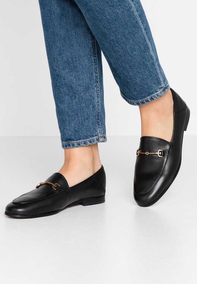 LORAINE - Loaferit/pistokkaat - black