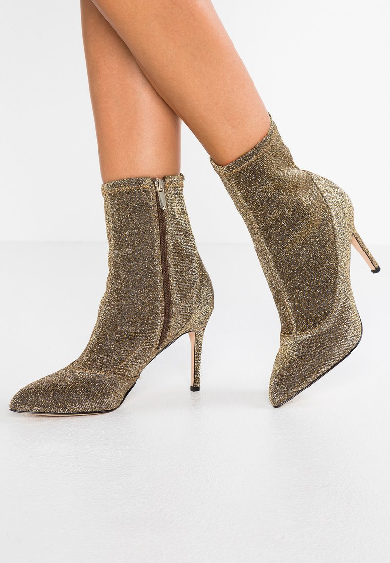 Sam Edelman - OLSON - High heeled ankle boots - gold/multicolor