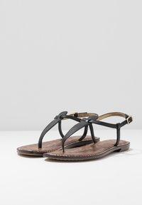 Sam Edelman - GIGI - T-bar sandals - true black - 4