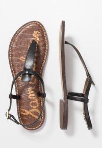 Sam Edelman - GIGI - T-bar sandals - true black - 3