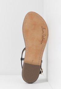 Sam Edelman - GIGI - T-bar sandals - true black - 6
