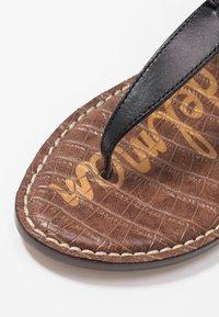 Sam Edelman - GIGI - T-bar sandals - true black - 2