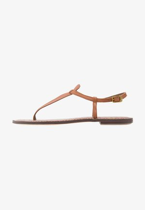 GIGI - Sandály s odděleným palcem - light brown